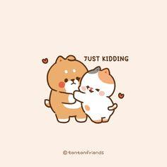 Cute Bear Drawings, Chibi Cat, Cute Characters, Fictional Characters, Tsundere, Cute Bears, Cute Cartoon Wallpapers, Just Kidding, Cute Gif