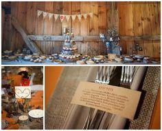 Charming Rustic Fall Wedding - Rustic Wedding Chic