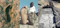 The oldest human footprints bycontinent.  laetoli Electric Universe, Controversial Topics, Human Evolution, Footprints, Science And Nature, Anthropology, Tanzania, Continents, Archaeology