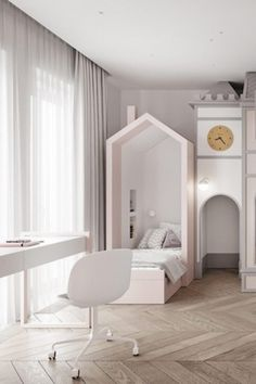 Get inspired by this luxury kids' room project in a white color palette. . . . . #circumagicalfurniture #kidsfurniture #kidsroom #kidsinterior #whitedecor #whitedecoration #whitedeco