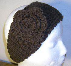 Headband Ear Warmer Knitting Pattern | Row 25-30: sc in each stitch across, ch 1, turn (11 st)