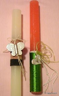 Το τυχερό κουμπί: Χειροποίητες Λαμπάδες Orthodox Easter, About Easter, Easter Crafts, Easter Ideas, Niece And Nephew, Holiday Time, Happy Easter, Gift Wrapping, Ornaments