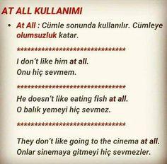 English Words, English Grammar, English Language, Improve English, Learn English, Turkish Lessons, English Collocations, Learn Turkish Language, Writing Words