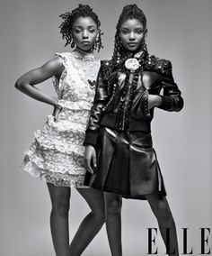 Chloe x Halle, I love these two, I like their sound and creativity
