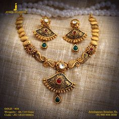 Gold 916 Premium Design Get in touch with us on Gold Ring Designs, Gold Earrings Designs, Gold Jewellery Design, Necklace Designs, Bridal Jewellery, Designer Jewelry, Gold Jewelry Simple, Gold Rings Jewelry, Gold Necklaces
