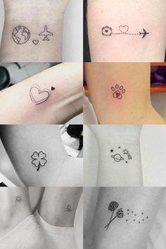 Female arm tattoos: Over 50 incredible inspirations for . - tatoo feminina - Female arm tattoos: over 50 incredible inspirations for - Subtle Tattoos, Dainty Tattoos, Mini Tattoos, Unique Tattoos, Beautiful Tattoos, Inspiring Tattoos, Tree Tattoos, Awesome Tattoos, Cute Little Tattoos