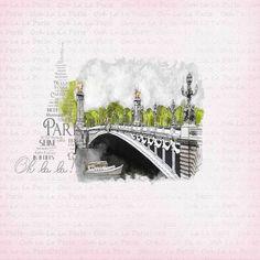 Kit Romance à Paris - Album de pages de scrap. - Galerie Scrapbooking