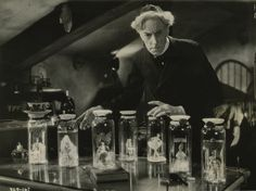 Ernest Thesiger as Doctor Pretorius in Bride of Frankenstein Directed by James Whale, Universal Studios, USA, 1935 Sci Fi Horror, Gothic Horror, Horror Films, Horror Icons, Horror Art, Scary Monsters, Famous Monsters, Horror Monsters, Sci Fi Movies