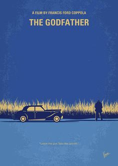 East Urban Home 'The Godfather Minimal Movie Poster' by Chungkong Vintage Advertisement on Wrapped Canvas Size: Minimal Movie Posters, Minimal Poster, Cinema Posters, The Godfather Poster, Godfather Movie, Godfather Quotes, Der Pate Poster, Mafia, Shire