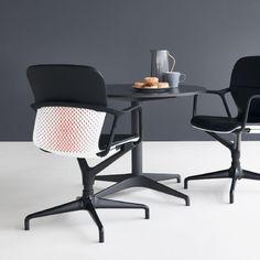 durch die kombination von fu sitzschale und gestellverarbeitung mit einer umfassenden auswahl von materialien knnen - Herman Miller Schreibtischsthle