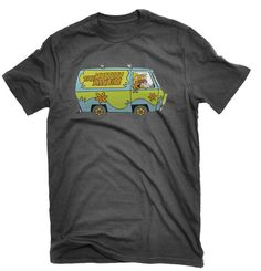 Scooby Doo T-shirt Scooby Van Snacks Mystery Funfair on Etsy, £12.99