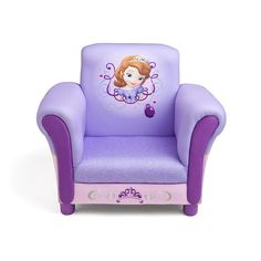 "Disney Sofia the First Upholstered Chair - Delta - Toys ""R"" Us"