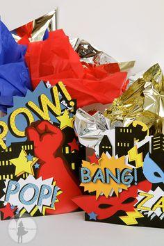 Superhero Party Centerpiece Party Package: (Printable Edition). $10.00, via Etsy.
