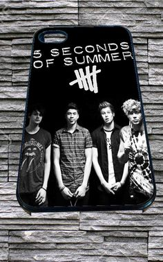 5 Second Of Summer Poster for iPhone 4/4s/5/5S/5C/6, Samsung S3/S4/S5 Unique Case *95*