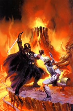 This is the ultimate fight #DartVader #StormTrooper #StarWars
