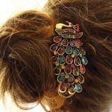 Cheap hair clips hairpins, Buy Quality clip hairpins directly from China peacock hairpin Suppliers: Bohemia Vintage Colorful Peacock Hairpins Multicolour Crystal Peacock Hair Clip Hairpin Retro Hair Jewelry for women Bijoux Peacock Hair, Peacock Jewelry, Green Peacock, Vintage Accessories, Vintage Jewelry, Accessories Online, Fashion Accessories, Fashion Jewelry, Jewelry Accessories