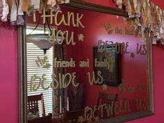 Manana's Thanksgiving Mirror
