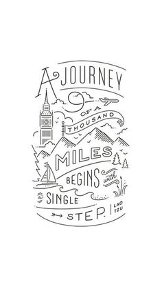 Journey Of Thousand Miles iPhone 6 / 6 Plus wallpaper