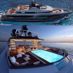 Yacht – Kursad Ciranoglu – Join the world of pin Yacht Luxury, Luxury Travel, Luxury Cars, Luxury Yacht Interior, Luxury Vinyl, Yacht Design, Boat Design, Super Yachts, Buy A Boat