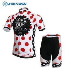XINTOWN Team Womens Bicycle Ropa Ciclismo Cycling Jersey Set Girls Short  Sleeve Tops + (Bib a921fca6a