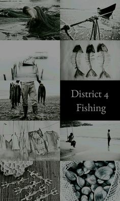 The Hunger Games Aesthetics: District 4