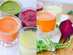 4 Vibrant Juice Recipes