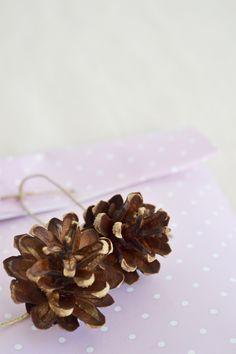 Ideas de envoltorios otoñales. Autumn packaging
