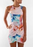 Floral Ruffled Hollow Out Sleeveless Bodycon Dress . . Shop for cute dresses, find discounts, coupon codes, promo on dresses! #cheapdresses #fashiondiscount #cutedress #dresses #outfits Cheap Dresses, Cute Dresses, Beautiful Dresses, Pink Dresses, Tight Dresses, Party Dresses, 1 Piece Dress, New Mode, Mode Blog