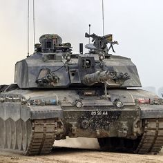 British Army Challenger 2 Main Battle Tank