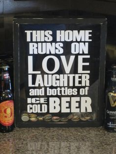 Handmade Beer Cap Collector Shadow Box This by AllyBoosCreations
