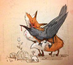 love the fox and rav