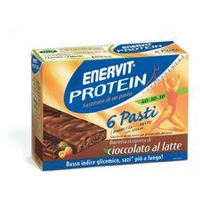 Enervit Protein Barretta Cioccolato Latte 6 barrette
