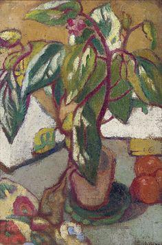 Flowers and Fruit, 1900. Louis Valtat