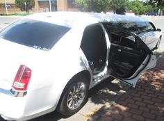Chrysler 300 Stretch 5 door for easy in and out. Seats 6 and concierge comfortably.
