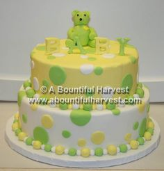 Image detail for -Baby Shower Cakes, Custom Baby Cakes Chattanooga, A Bountiful Harvest