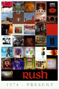 Rush albums...only Clockwork Angels is missing :)