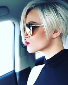 """589 Likes, 15 Comments - Jessica (@jessiejanesway) on Instagram: """"Short hair don't care 😘 #pixiecut #pixie #shorthair #shareandtag #fridayvibes #happyfriday…"""""""