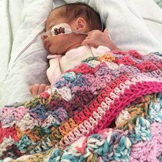 hanrosieg #crochet blanket for new baby
