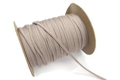 Earthy Beige Knit Jersey Trim Spaghetti Straps by felinusfabrics