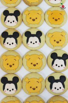 Mickey & Winnie the Pooh Tsum Tsum Icing Cookies