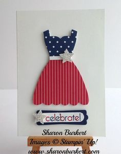 Happy 4th of July! - Dress Framelit and punches