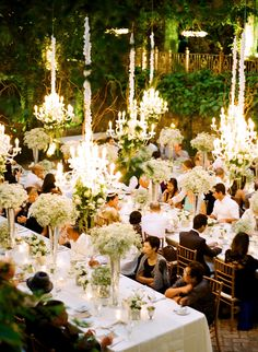 Chandeliers and Outdoor Weddings  ~ Photography: Lacie Hansen | Venue: Haiku Mill  |  Florist: Teresa Sena  |  Event Stylist: Robyn I'aea