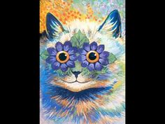 Vintage Flower Power Cat Art Poster Print Let's travel back in time to the psychedelic era! Trippy images for hippies! Flower Power, Cat Posters, Funny Posters, Kunst Poster, Beautiful Posters, Cat Colors, Bright Colors, Vintage Cat, Custom Posters