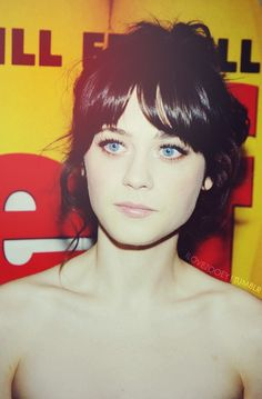 Zooey Deschanel #Style #Outfit #Hair