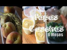 Papas Caseiras Para Bebé De 6 Meses | Papinhas Do Indio | Joanabbl - YouTube Nutribullet, Pear, Fruit, Food, Youtube, 6 Month Baby, Healthy Recipes, Summary, The Fruit