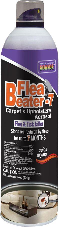 Flea Beater 7 Carpet And Upholstery Aerosol