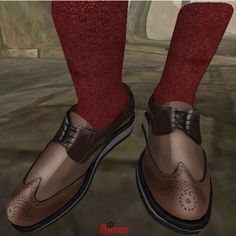 3 GB Wing Tip Low Cut Shoes Brown_001 | Flickr - Photo Sharing!