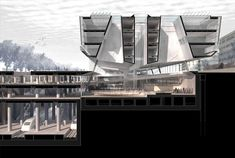 Insula architettura e ingegneria, Francesco Cellini e Atelye 70: Yenikapi transfer point e Archaeo Park, Turchia, 2014 (concorso primo premio). © Insula architettura e ingegneria