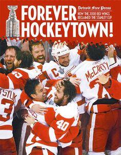 Hockeytown!  Missed you!