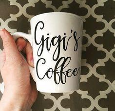 Gigi's Coffee // Grandma Mug // White Coffee Mug by cmorrisdesigns